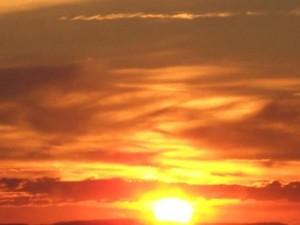 Sonne hell